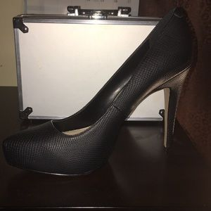 Black pair of heels Jessica Simpson shoes